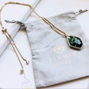 KENDRA SCOTT - Kalani Necklace Gold Sage
